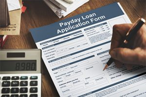 Applications for payday loans