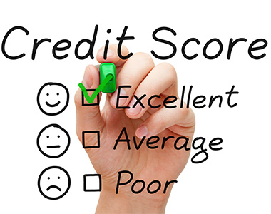 Get an excellent credit score