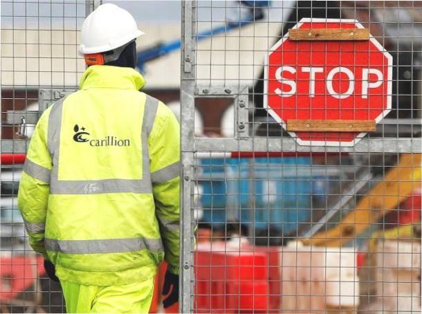 Stop work Carillion