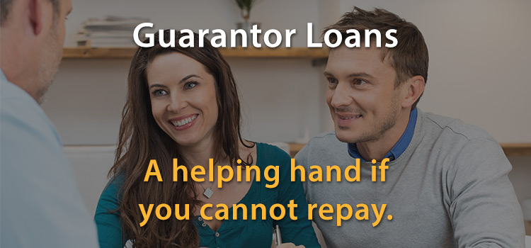 A guarantor can pay if you can't