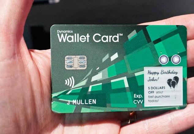smart wallet card