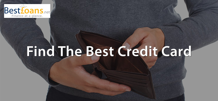 Browse the best credit cards online