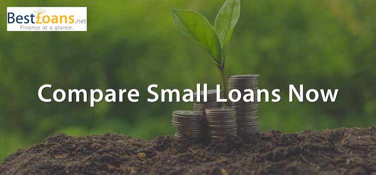 Compare the smaller loans available