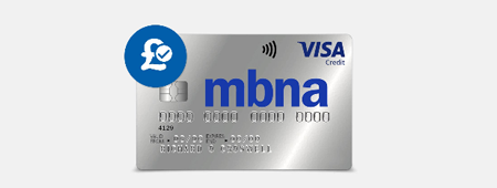 MBNA balance transfer card
